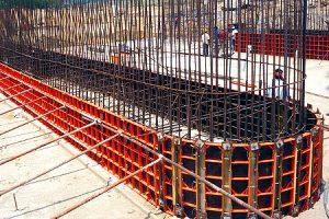ХСИ мелкощитовая стальная фундамент