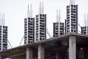 колонн крупнощитовая алюминиевая Агрисовгаз