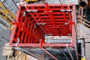 Опалубка лифтовых шахт МСК