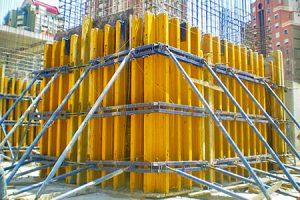 стен балочно-ригельная лифтовых шахт