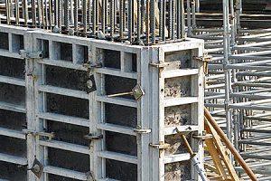 стен МЕКОС крупнощитовая алюминиевая