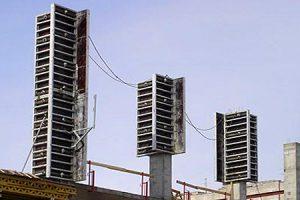 колонн крупнощитовая алюминиевая