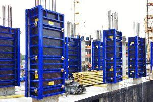 высоких колонн стальная Гамма